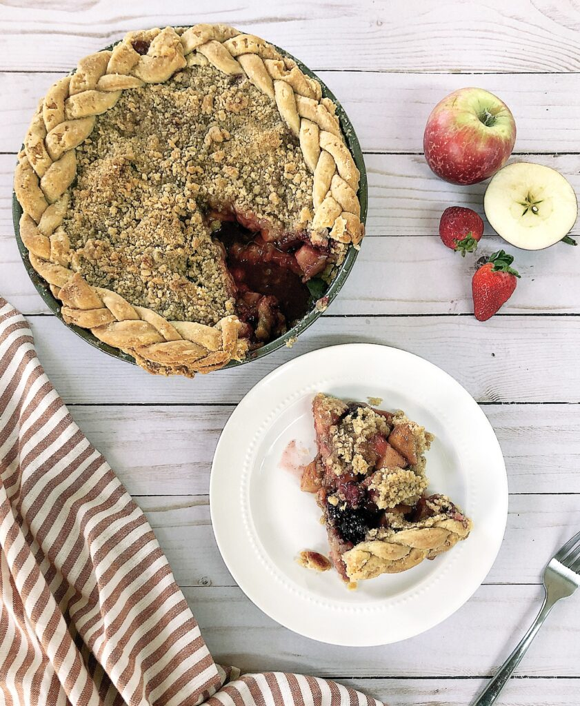 Apple mountain berry crumb pie recipe