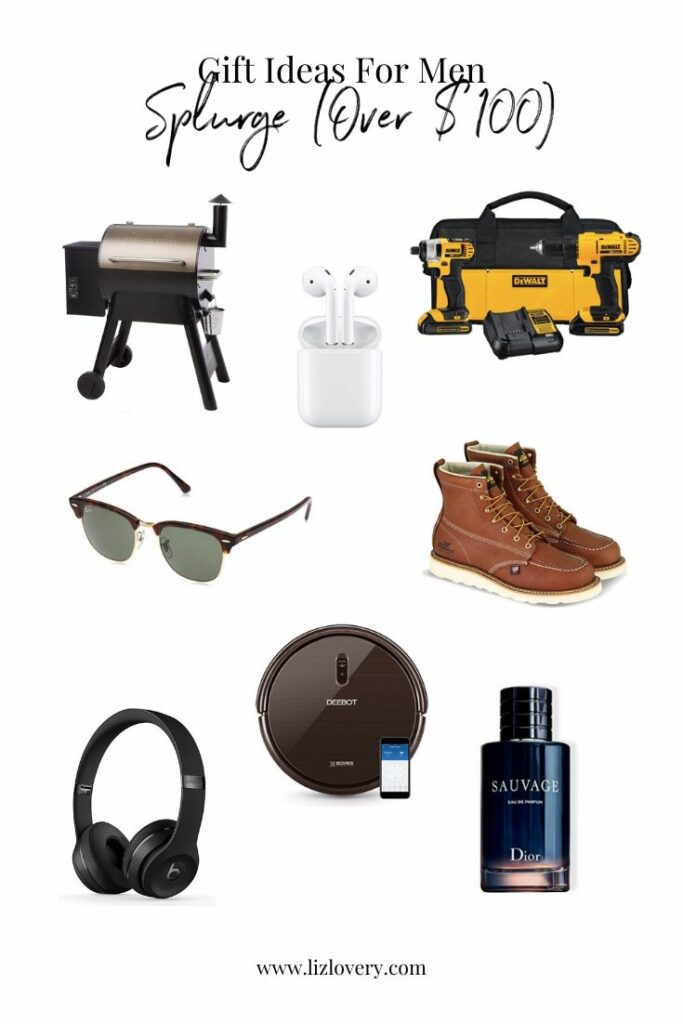 Mens gift guide gift ideas over $100