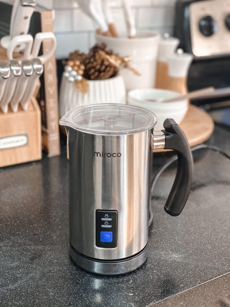 Amazon Milk Frother & Steamer