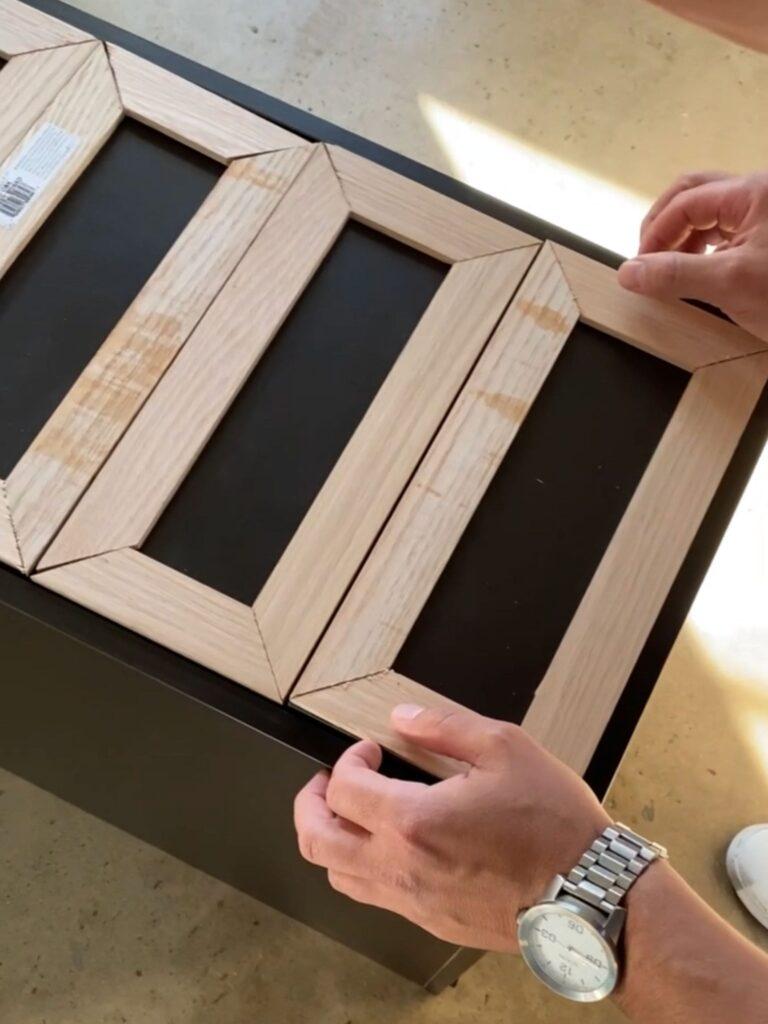 IKEA Alex Drawers DIY Step By Step Tutorial: Step 1 - Liz Lovery